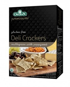 Multigrain crackers with poppyseed