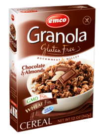 Chocolate & Almond granola