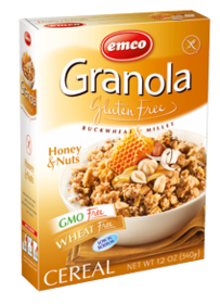 Honey & nuts granola
