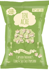 Lime and Salt Flavour Popcorn
