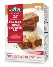 Caramel fudge brownie mix