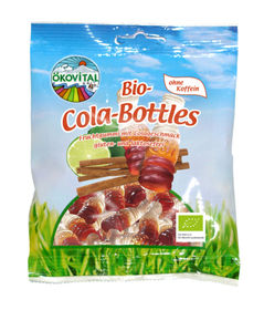 Cola-bottles with gelatin