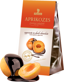 Apricots in dark chocolate